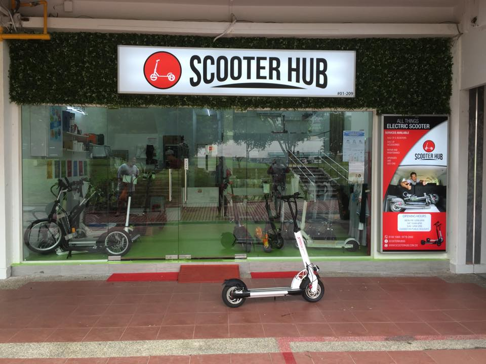 Top Six Scooter Repair Shops in Singapore